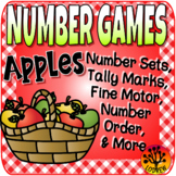 Apple Centers Number Games Math Centers Autumn Activities