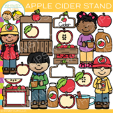 Apple Cider Stand Fall Clip Art