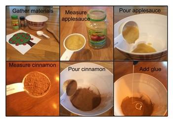Apple Cinnamon Dough Activity