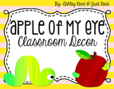 Apple Themed Classroom Decor MEGA Pack
