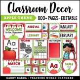 Apple Classroom Decor
