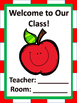 Classroom Poster Set- Apples