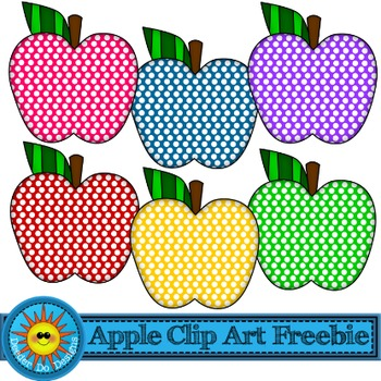 Apple Clip Art FREEBIE!