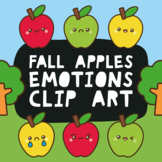 Apple Clip Art + Free Gift, Expressions, Emotions, Feeling