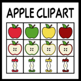 Apple Clip Art (Personal & Commercial Use)