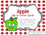 Apple Clip or Cover Counting Cards
