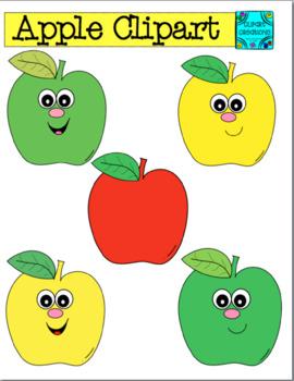Apple Clipart **Freebie**