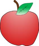 Apple Clipart Freebie