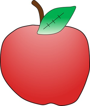 Apple Clipart Freebie