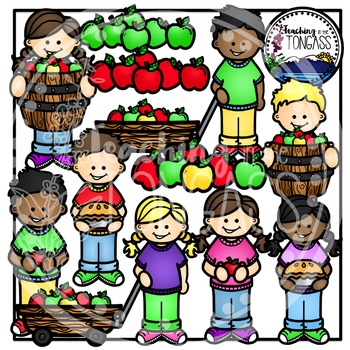 Apple Kids Clipart (Apple Clipart)