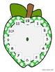 Apple Clock - Clock Labels and File Folder Game