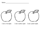 Apple Color Activity