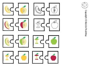 Apple Color Match Puzzle