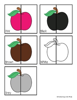 Apple Color Matching Puzzles