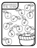 Apple Addition with Regrouping Apple Color by Number Addition with Regrouping