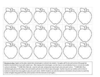 Apple Colors Sorting Mat (small)