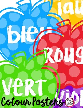 Apple Colour Posters - FRENCH