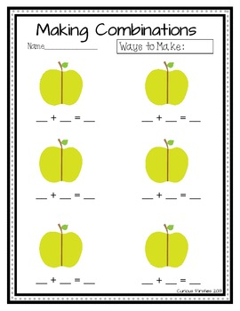 https://www.teacherspayteachers.com/Product/Apple-Combinations-921114