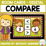 Apple Compare - Boom Cards - Distance Learning
