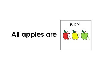 Apple Comprehension Mini-Adapted Book