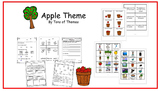 Apple Comprehension Packet for Special Education and Autism