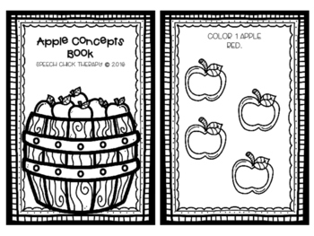 Apple Concept Book for Speech and Language
