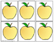 Apple Cookie Tray Activity Bundle: Color Sorting, Counting