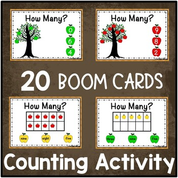 Apple Counting Activities