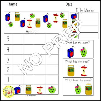 Apples Count and Clip Task Cards