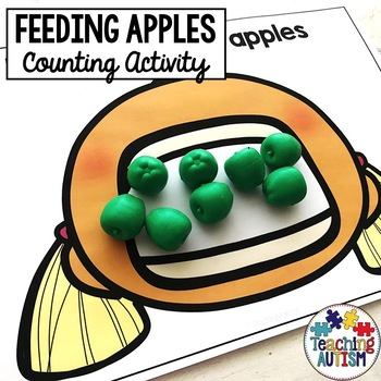 Apple Counting Activity Feeding Apples