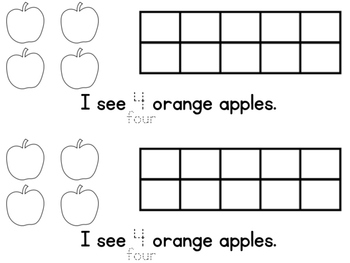 Apple Counting Book