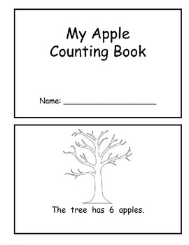 Apple Counting Book (Numbers 6-10)