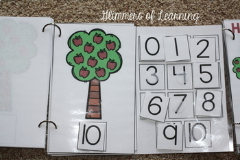 Apple Counting Books: Interactive and Differentiated