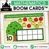Apple Counting Boom Cards™ | Ten Frames 1-10