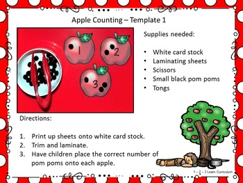 Apple Counting Center