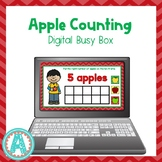 Apple Counting Digital Busy Box for Distance Learning
