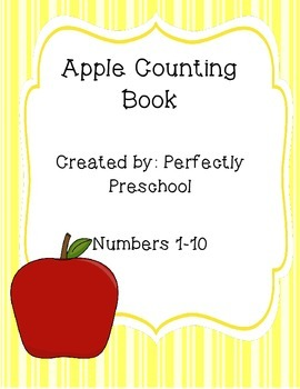 Apple Counting Emergent Reader
