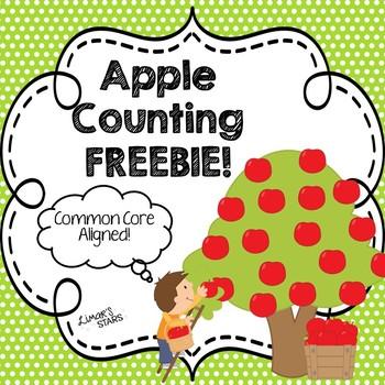 Apple Counting FREEBIE!