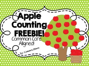 Apple Counting FREEBIE!