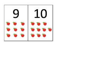 Apple Counting Math Center