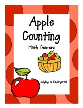 Apple Counting Math Centers