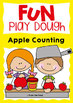 Apple Counting Play Doh Mats {Fine Motor Activities}