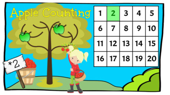 Apple Counting - September Center (in Google: Digital and Interactive)