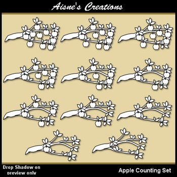 Apple Counting Set
