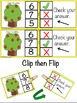 Apple Counting, Shapes, and Ten Frames Self Checking Task Cards
