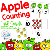 Apple Counting Task Cards