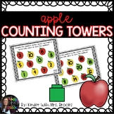 Apple Counting Towers FREEBIE