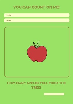 Apple Counting WorkSheet