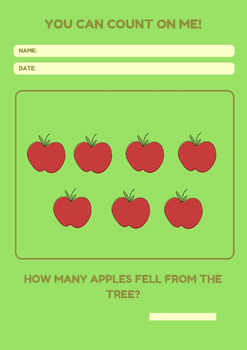 Apple Counting WorkBook