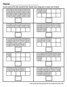 Apple Counting Worksheet 2
